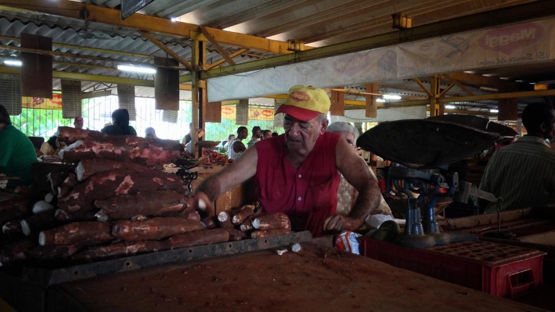 Cuba- habana-liana solis photographer-Vendedor yuca mercado 19